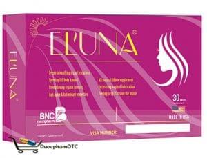 eluna là sản phẩm sinh lý nữ được nhập khẩu từ USA