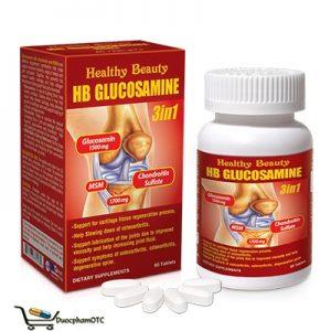 glucosamine điều trị xương khớp