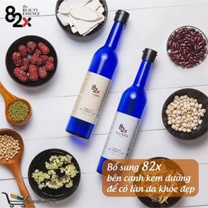Collagen Placenta 82X là bộ sản phẩmchống lão hóa da