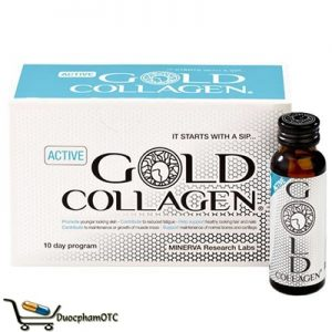 active gold collagen dang nước