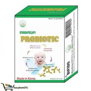 Premium Probiotic men vi sinh