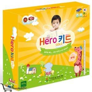 hero kid gold là sản phẩm phát triển chiều cao cho trẻ
