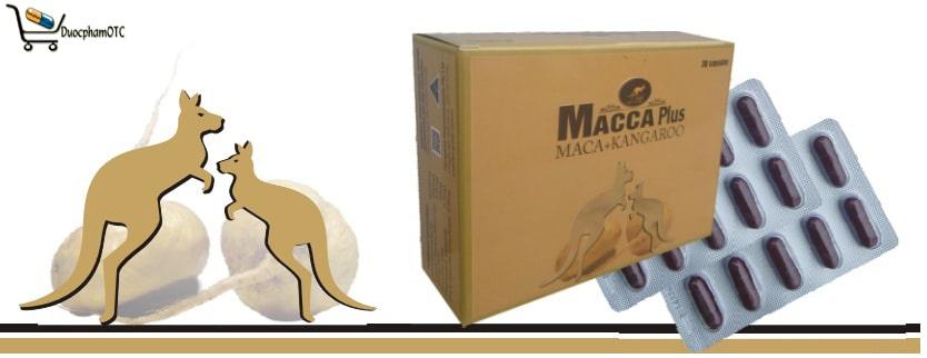 macca plus là sản phẩm nhập khẩu tại Úc