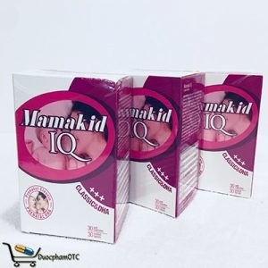 mamakid IQ bổ sung dinh dưỡng bà bầu