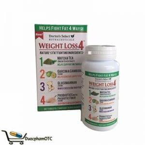 Doctor's seclect Weight Loss 4 hỗ trợ giảm cân