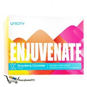 Enjuvenate SC Strawberry Cucumber Flavor giúp tăng cơ