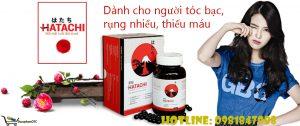 Hatachi dành cho người rụng tóc, tóc bạc, thiếu máu