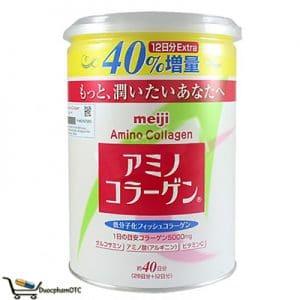 bột Meiji Amino Collagen 284g là sản phẩm dành cho người muốn trẻ hóa da