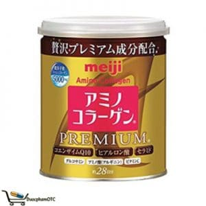 Meiji Amino Collagen Premium dạng bột bổ sung collagen