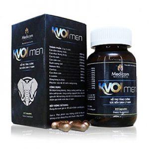 kvoimen hỗ trợ tăng cường sinh lý nam giới