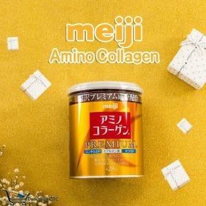 Meiji Amino Collagen Premium dành cho người lão hóa da, ngoài 40 tuổi