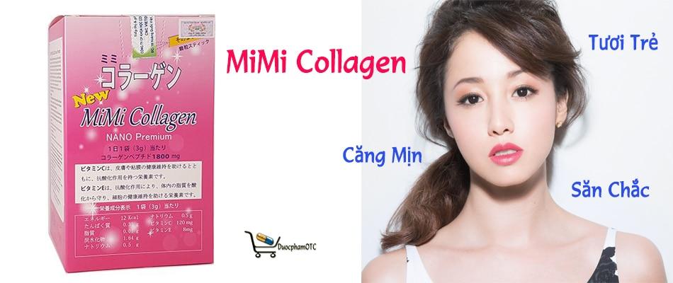new mimi collagen là sản phẩm cung cấp collagen giảm nám và tàn nhang