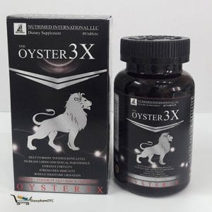 Oyster3x bổ sung hocmon sinh dục nam