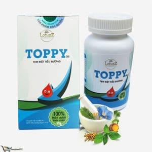 thảo dược toppy là sản phẩm hỗ trợ điều tiểu đường