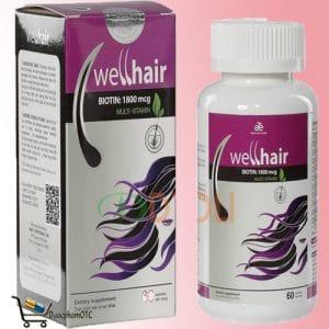 Well hair là sản phẩm mọc tóc từ mỹ