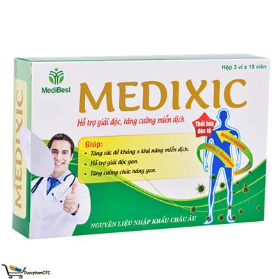 Medixic Thực Phẩm Chức Năng Hỗ Trợ Giải Độc Gan - Dược Phẩm OTC