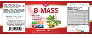 Bmass là sản phẩm hỗ trợ điều trị trĩ nội, ngoại