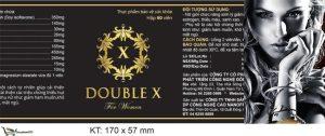 Double X For Women là sản phẩm dành cho phụ nữ cần cải thiện sinh lý