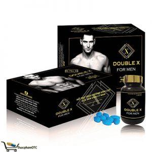 Double X For men là sản phẩm hỗ trợ sinh lý nam