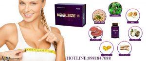 Koolsize với thành phần thảo dược an toàn khi sử dụng