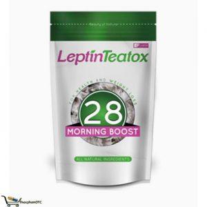 Leptin Teatox 28 Morning Boost là trà giảm cân, tăng cường trao đổi chất