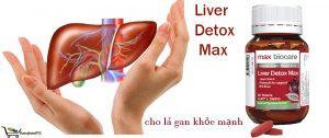 Liver Detox Max là sản phẩm từ Úc giúp tái tạo tế bào gan, giải độc