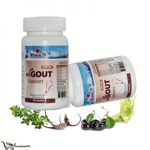 MS Gout Support hỗ trợ điều trị bênh Gout, giảm đau viêm khớp
