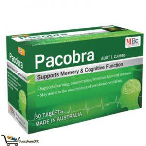 Pacobra bổ não, hỗ trợ khả năng nhận thức,..