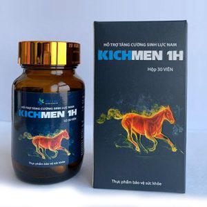 kichmen 1h hỗ trợ tăng sinh lực nam