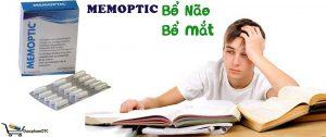 MEMOPTIC bổ sung các vitamin, dưỡng chất thiết yếu cho não bộ