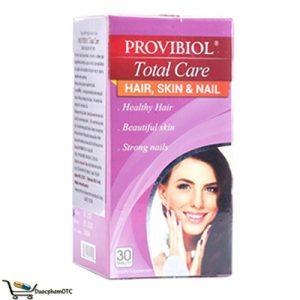 viên Provibiol Total Care hỗ trợ mọc tóc hiệu quả