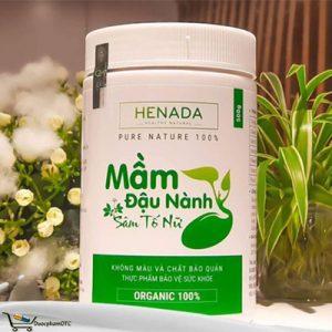 mầm đậu nành sâm tố nữ Henada