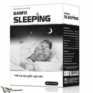 Sanfo Sleeping hỗ trợ giấc ngủ ngon, hỗ trợ an thần