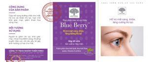 Blue Berry bổ sung các dưỡng chất cho mắt