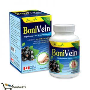 BoniVein hỗ trơ phòng ngừa trĩ nội trĩ ngoại