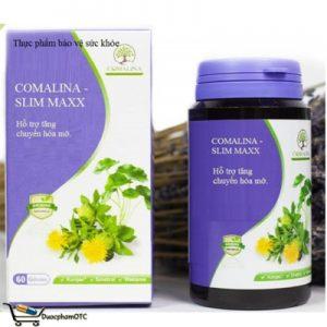 COMALINA – Slim Maxx hỗ trợ giảm cân an toàn