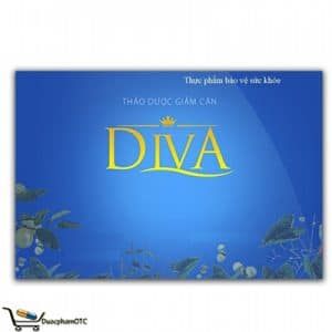 Giảm Cân Diva, thành phần từ thảo dược