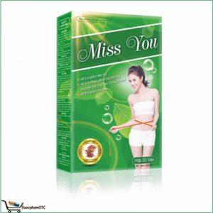 Giảm Cân Miss You hỗ trợ giảm béo phì, mỡ máu