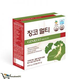 Ginkgo Multi hỗ trợ tăng tuần hoàn máu não