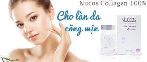 Nucos Collagen 100% tăng sự đàn hồi của da