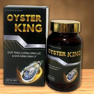 OYSTER KING hỗ trợ bồi bỏ sức khỏe