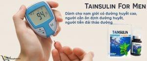 Tainsulin For Men dành cho nam giới tiền đái tháo đường, , đường huyết cao