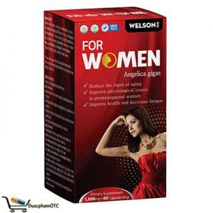 Welson For Women hỗ trợ cải thiên sinh lý nữ