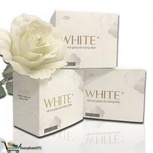 White+ hỗ trợ bổ sung collagen, chất chống oxy hóa cho da