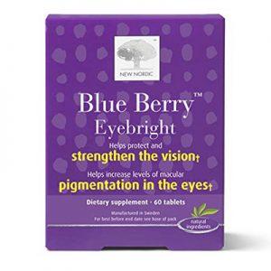 Blue Berry hỗ trợ mắt sáng, tăng cường thị lực