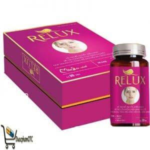 relux hỗ trợ điều kinh nguyêt, hỗ trợ giảm lão hóa da