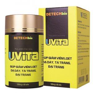 Uvita hỗ trợ điều trị viêm loét dạ dày tá tràng