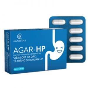 AGAR-HP hỗ trợ giảm viêm loét dạ dày do khuẩn HP