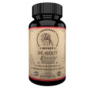De-Gout 2 Hours hỗ trợ giảm đau do gout