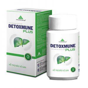 Detoxmune Plus hỗ trợ tăng cường chức năng giải độc gan